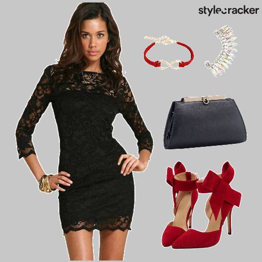 Dress Lace Dinner Cocktail - StyleCracker