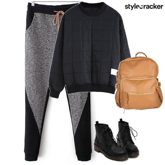 Joggers Boots Backpack Casual  - StyleCracker