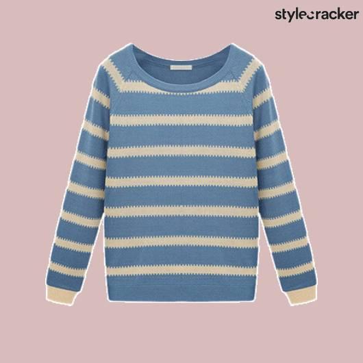 ScLoves Top Stripes - StyleCracker