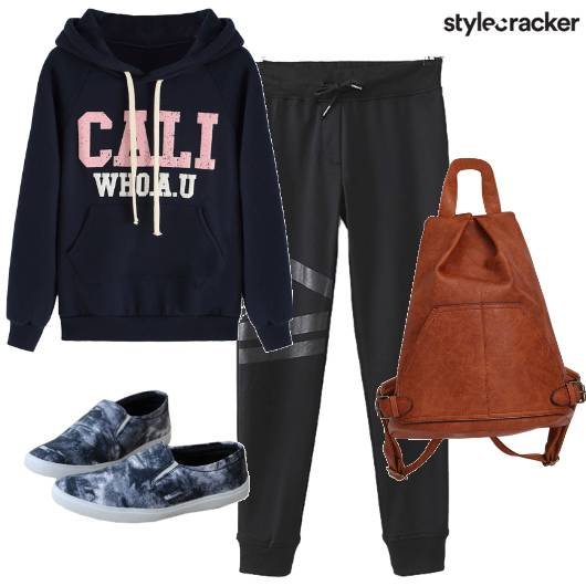 SweatShirt JoggerPants Shoes Sports Morning Workout - StyleCracker