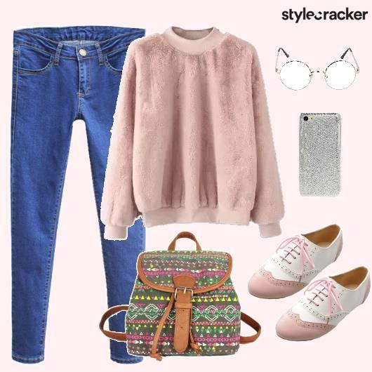 Top Sweater College Bagpack - StyleCracker