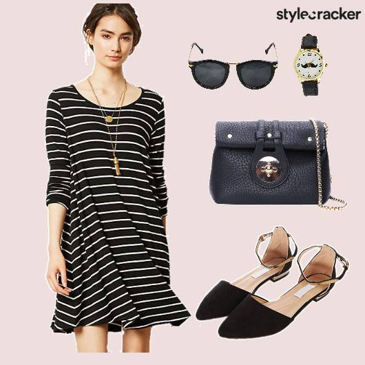 Dress Stripes Casuals Shoes  - StyleCracker