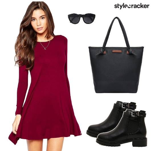 Dress Tote Boots Sunglasses - StyleCracker