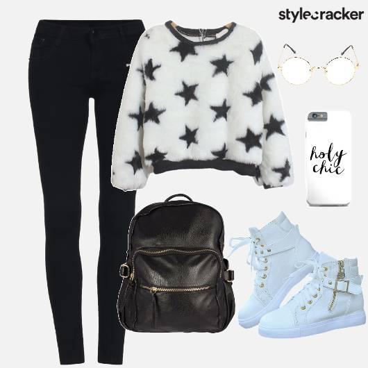 Casuals SweatShirt Backpack Shoes - StyleCracker