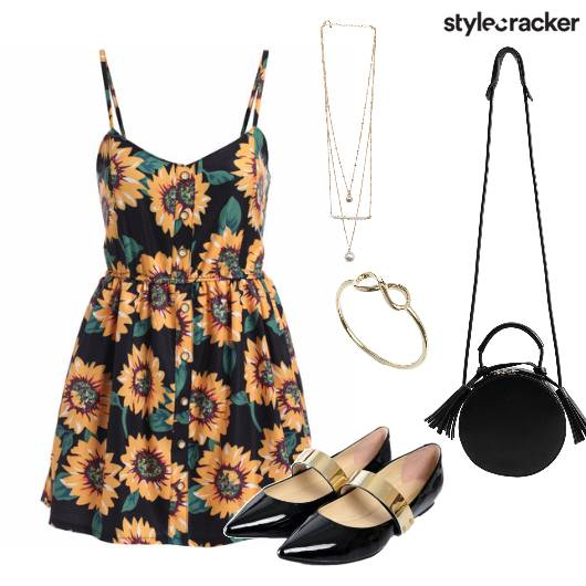Floral Print Dress Casual - StyleCracker