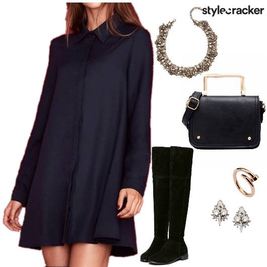 SHIRT DRESS DINNER SATCHEL BAG   - StyleCracker