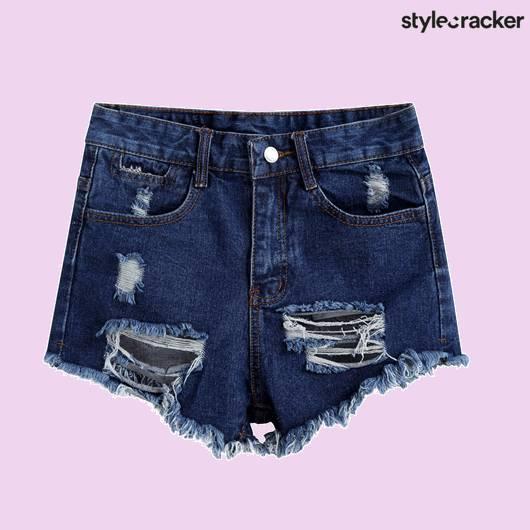 SCLOVES Ripped Shorts - StyleCracker