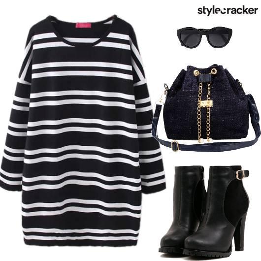 Dress Sweater Boots Bag Sunglasses - StyleCracker