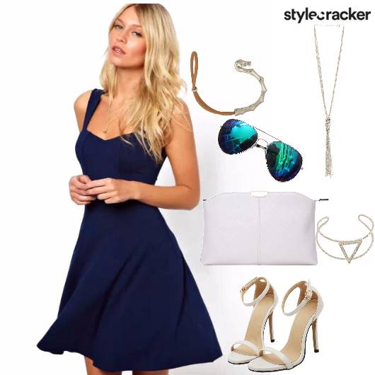 Flared DRESS BRUNCH BRACELET AVIATORS  - StyleCracker
