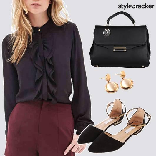 Bow Blouse Workwear  - StyleCracker