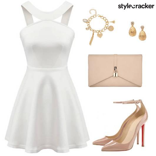 Dress Heels Clutch Earring Charm Bracelet - StyleCracker