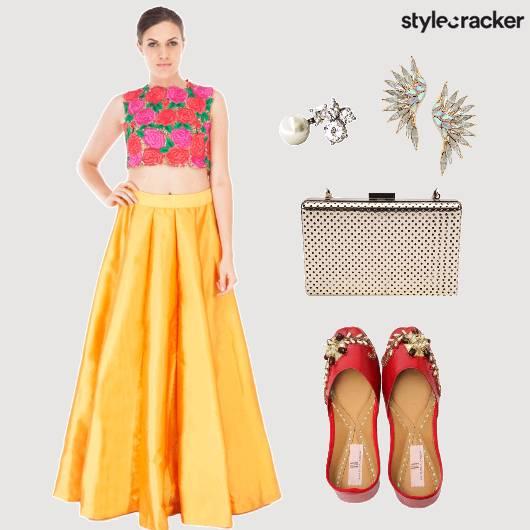 Indian Festive Floral Wedding - StyleCracker