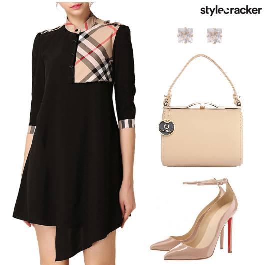 Dress Heels Bag Earring - StyleCracker