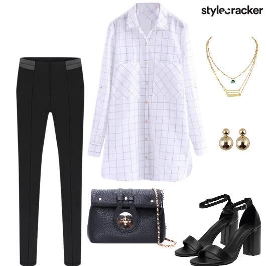 Shirt Pant Sling Necklace - StyleCracker
