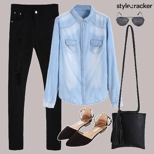 Denim Jeans Casuals Sling - StyleCracker