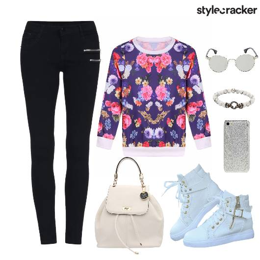 Print Top Casuals Leggings Bags Shoes - StyleCracker