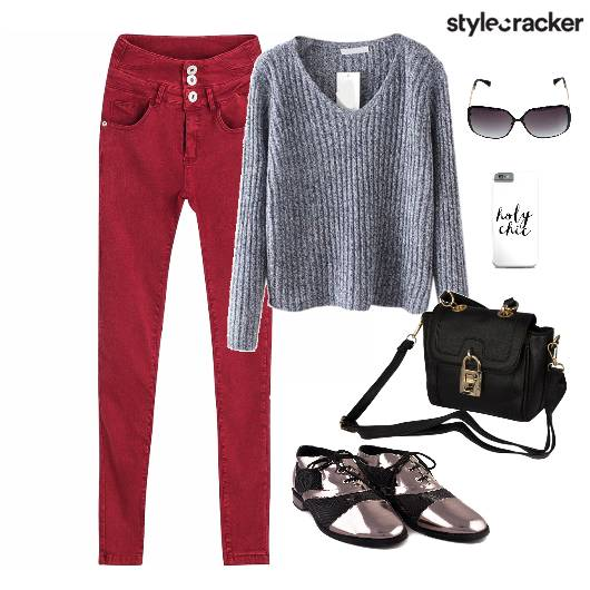 Sweater Winter College - StyleCracker