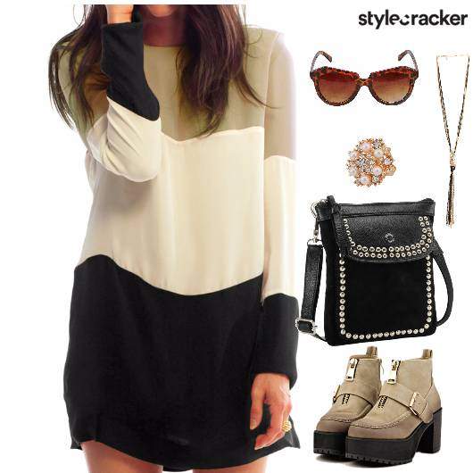 STRIPPED DRESS CASUALS  ANKLE BOOTS  - StyleCracker