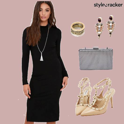 Dress Bodycon Accessories   - StyleCracker