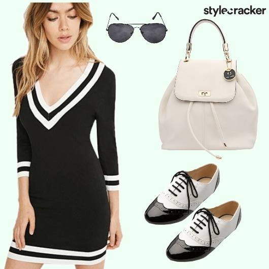 Bodycon Shoes Backpack Sunglasses - StyleCracker