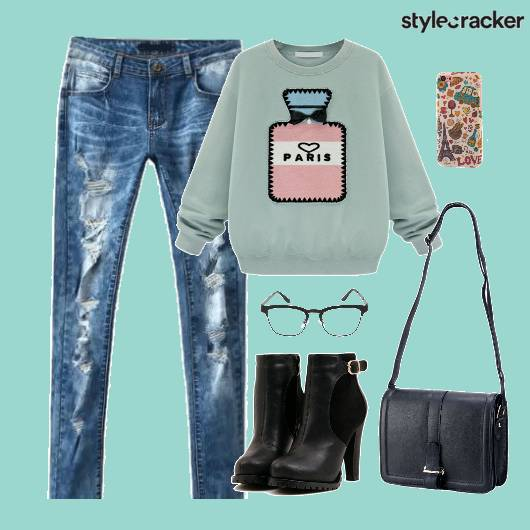 Sweater Casual Bag Shoes Winter - StyleCracker