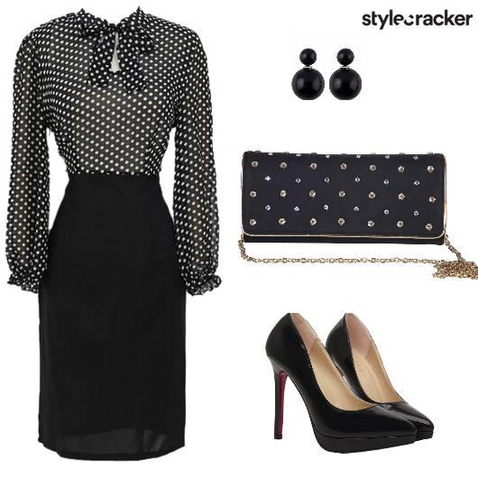 Dress Stilletos Retro Earrings - StyleCracker