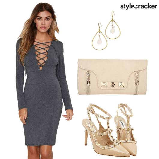 Dress Stilettos Bag Danglers - StyleCracker