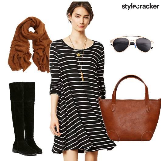 Winter Stripes Tan Day - StyleCracker