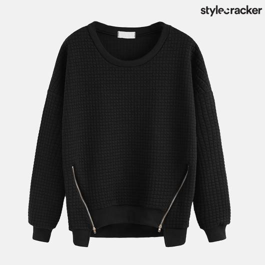 SCLOVES BLACK SWEATSHIRT - StyleCracker