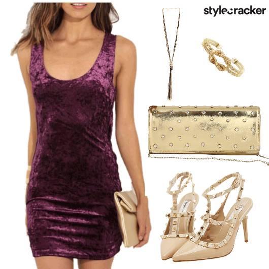 Dress Heels Clutch Necklace Cuff - StyleCracker