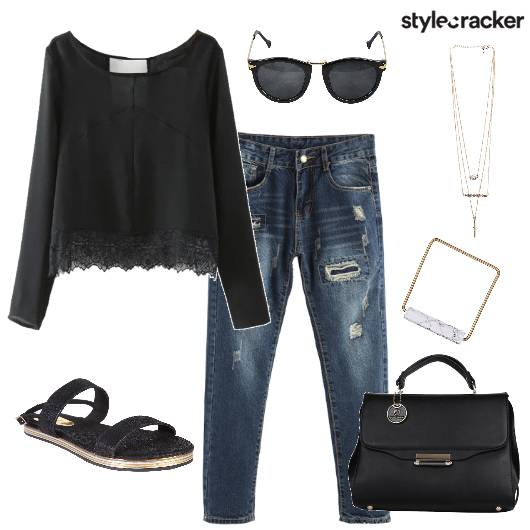 Ripped Jeans Casual - StyleCracker