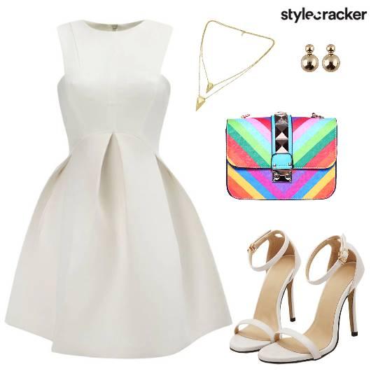 Dress Clutch Heels Necklace - StyleCracker