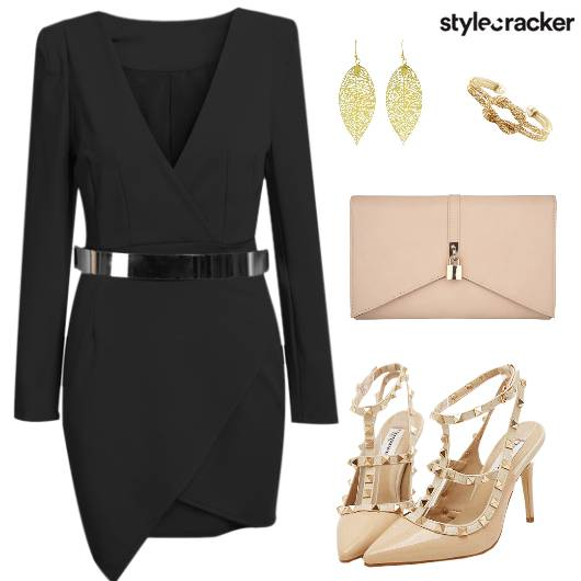 Dress Earring Clutch Heels - StyleCracker