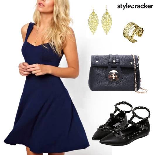 Dress Sling Cuff Flats Necklace - StyleCracker