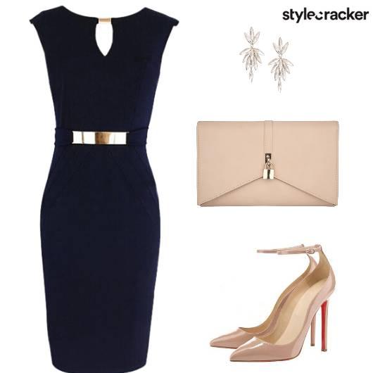 Dress Heels Clutch Earring - StyleCracker