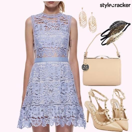 Pretty Pastels Lace Dress - StyleCracker