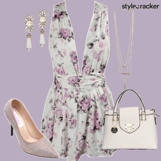 Feminine Dress Pumps Handbag  - StyleCracker