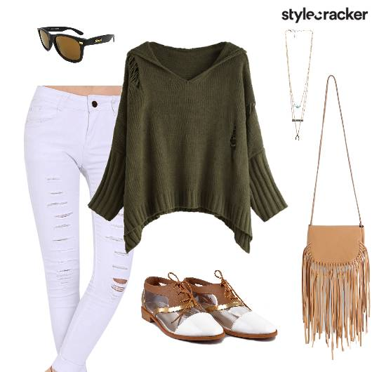 College Casual Rips Knits - StyleCracker