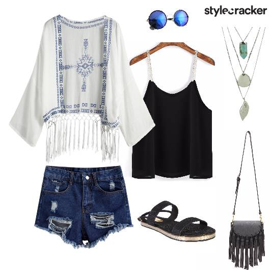 BarbecueBrunch Tassels Fringes Rips - StyleCracker