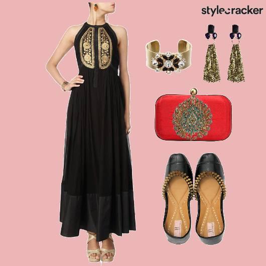 Indian Anarkali Wedding - StyleCracker