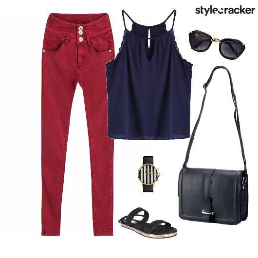 Pant Top Bag Casuals - StyleCracker