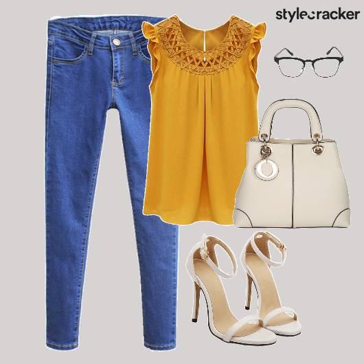 Casuals Top Denims Shoes Bag - StyleCracker