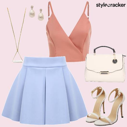 Pretty Pastels Skirt Top - StyleCracker