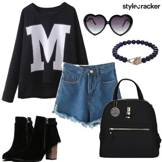 Casual DayOuting Shorts Shoes - StyleCracker