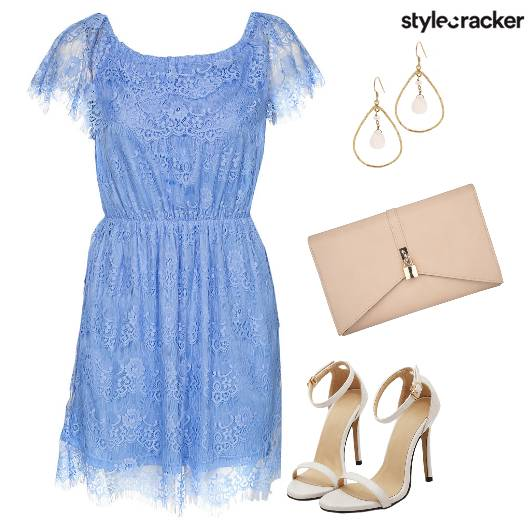 Serenity Lace Romantic Clutch  - StyleCracker