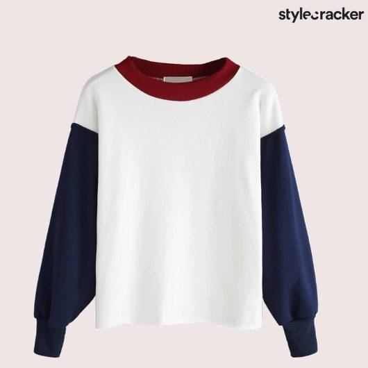 SCLOVES WHITE SWEATSHIRT  - StyleCracker