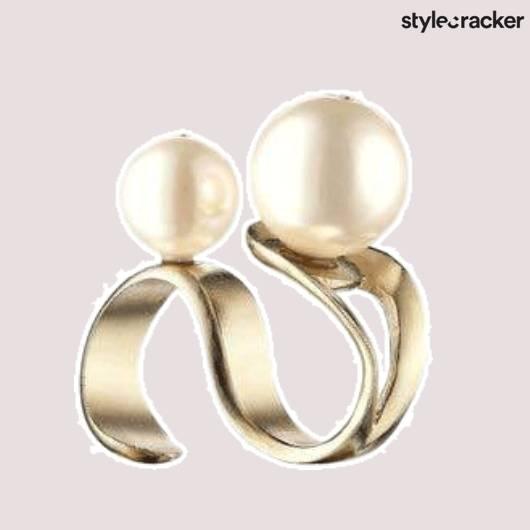 SCLOVES RING PEARL - StyleCracker