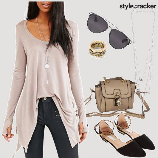 Long Full Sleeved Top Casual - StyleCracker