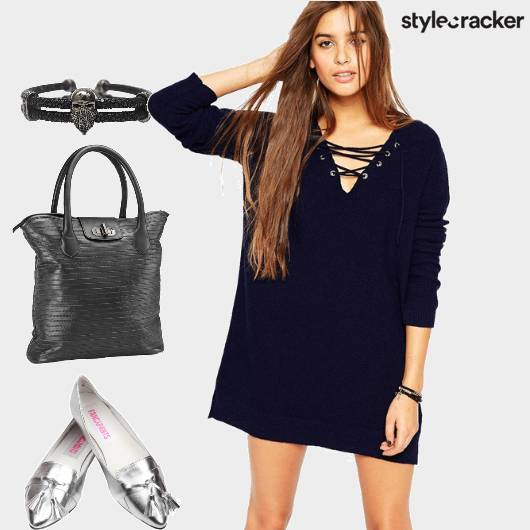 Laceup Dress StatementShoes - StyleCracker