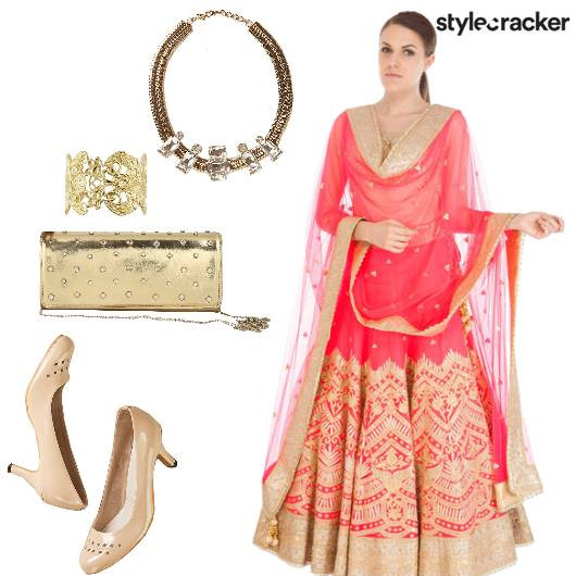Indian Wedding Festive Lehenga - StyleCracker